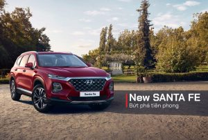 Hyundai santa fe bản đặc biệt giá chỉ từ 1,0xx tỷ
