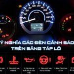 Ý nghĩa 64 loại đèn báo trên táp lô xe hơi mà tài xế bắt buộc phải nhớ