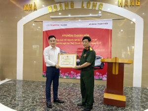 Chương trình Tặng quà cho Hội thương binh và khuyết tật tỉnh Thanh Hóa