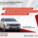Hyundai Thanh Hoá Khuyến mãi dịch vụ
