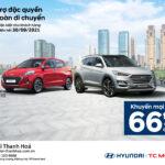 Khuyến Mại đặc biệt lên tới 66 triệu khi mua xe tại Hyundai Thanh Hóa