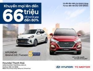 Hyundai Thanh Hoá khuyến mãi đặc biệt Tháng 10